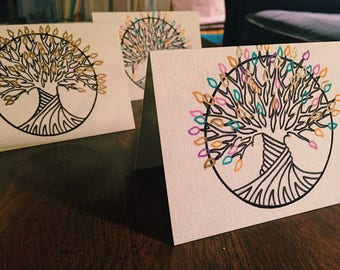 Twisted Tree Cards