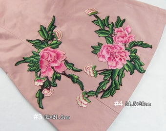 Embroidery Flower Appliques Clothing Patches