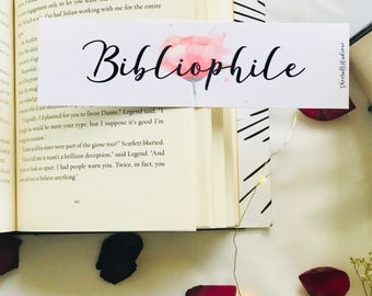 Bibliophile bookmark