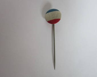 C 1890 Political Patriotic American Red White & Blue Stickpin