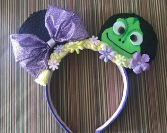 Tangled Minnie Mouse Ears