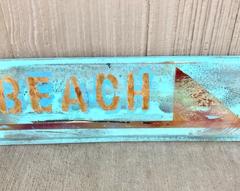 Rustic Beach Sign