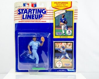Starting Lineup 1990 Bo Jackson Action Figure Kansas City Royal's