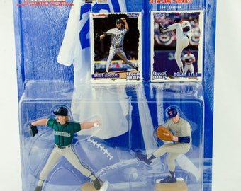Starting Lineup Baseball 1997 Classic Doubles Randy Johnson Nolan Ryan Figure