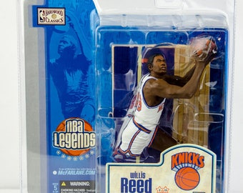 McFarlane's NBA Legends Willis Reed Action Figure New York Knicks