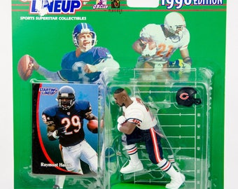 Starting Lineup 1998 NFL Raymont Harris Action Figure Chicago Bears