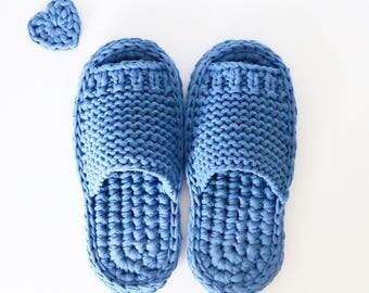 Nejnotapki (knitted slippers)