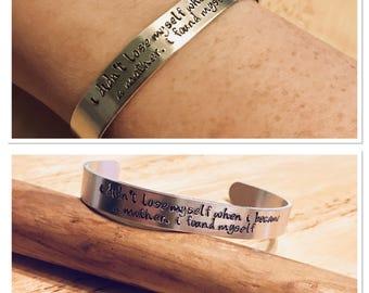 Design your own bar bracelet