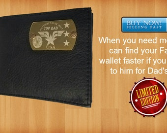 Father's Day Leather Wallet