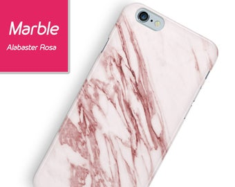 Alabaster Marble iPhone case, iPhone rose marble case, rose marble case iPhone 8, iphone 7, iphone 6, iphone 7 plus, galaxy s8, s7, s6