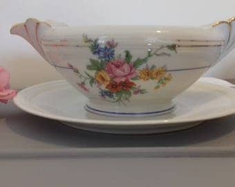 Gravy boat dish from the 1930's