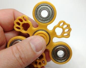 Paw Print Fidget Spinner