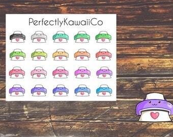 KCD08 Kawaii Printer Sticker