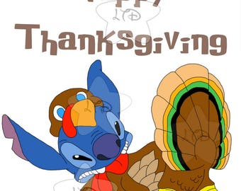 Happy Thanksgiving Stitch