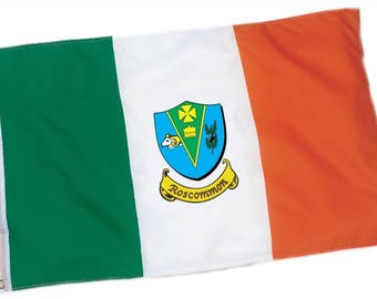 Roscommon County Coat of Arms Ireland Flag - 3'x5' foot