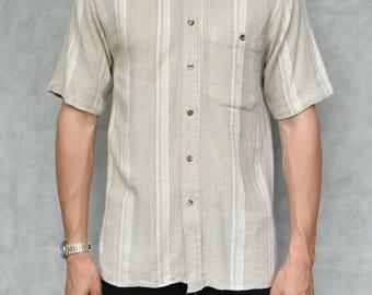 Vintage Stripe Shirt Size M