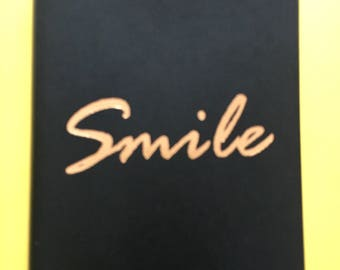 Chic & Glamorous Smile Notebook Journal Diary
