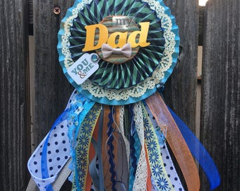 Custom Father's Day prize ribbon -sold