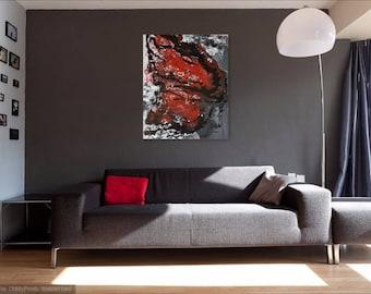 Mariposa - Original Abstract Fluid Acrylic  Painting