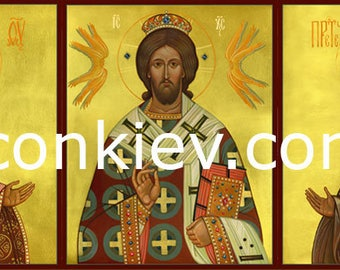 Deesis (Deisis), Digital download, Byzantine art, traditional iconic, orthodox icons