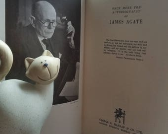 EGO 6 Once more the Autobiography of James Agate – 1944 – First Edition