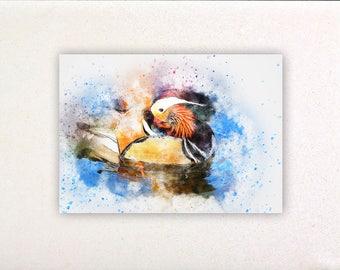 Bird - Watercolor prints, watercolor posters, nursery decor, nursery wall art, wall decor, wall prints 5 | Tropparoba - 100% made Italy