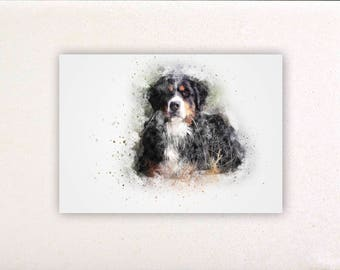 Dog - Watercolor prints, watercolor posters, nursery decor, nursery wall art, wall decor, wall prints 19 | Tropparoba 100% made in Italy