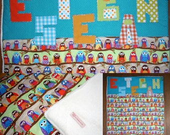 TO order, bed quilts unique and colorful to rock baby nights winter!