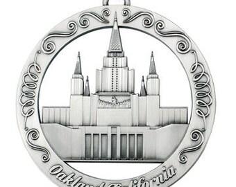 Oakland California LDS Temple Ornament
