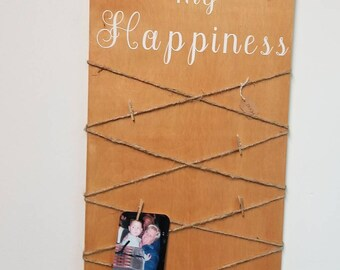 So Much of my Happiness Comes from You - Wall Decor