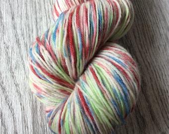 Popsicle. Socks yarn. Wool 75/Nylon 25%. Multicolor, 100 gr and 400 m long.