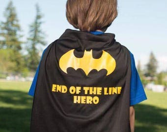 End of the line Super Hero Cape