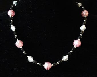 Murano Pink Necklace