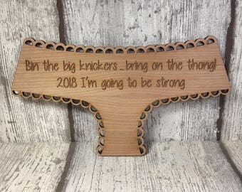 Weight loss motivation plaque sign
