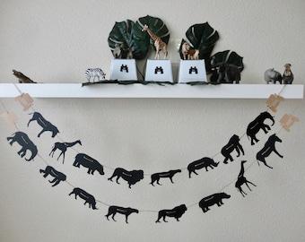 Safari Animals Garland