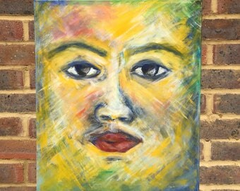 Face - Painting on Canvas