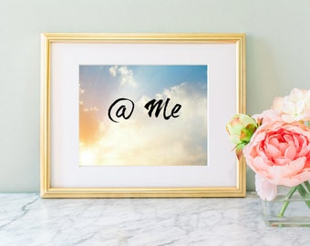 Sassy @ Me Digital Download Typography Wall Art Print