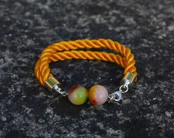 Custom Bracelet with Jade