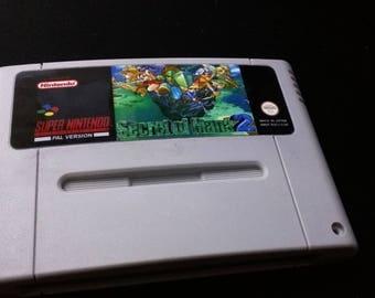 Secret of Mana 2 German PAL translation SNES Super Nintendo