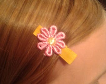 Pretty Flowers Stay-Put Hair Clips