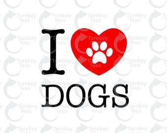 Download Love dog svg   Etsy