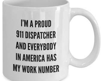 911 Dispatcher Mug - Funny Mug