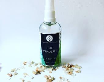 The Wanderer Mist /Vegan /Meditation Grounding Spray /Natural Essential Oil /Calming Room Spray /Yoga Spray /Meditation Spray