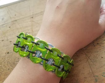Recycled Monster Tab Bracelet