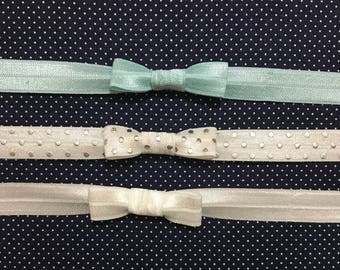 Bow and knot headbands