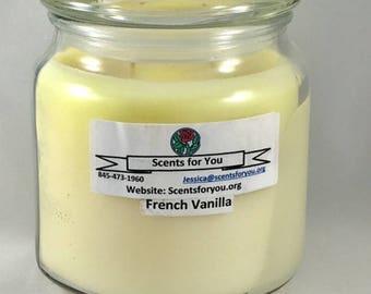French Vanilla Large Candle