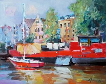 Houseboat Etsy - Modern custom houseboat graphics