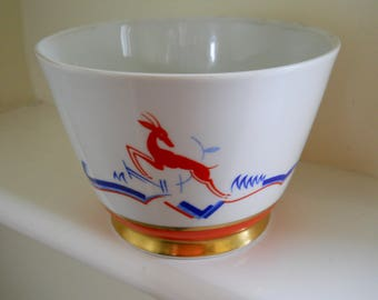 Vibrant Art Deco bowl from Arzberg