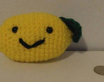 Crochet Amigurumi Lemon
