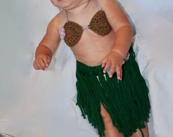 Baby Hawaiian Hula Skirts